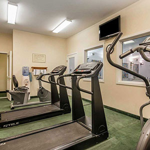 photo of hotel exercise room